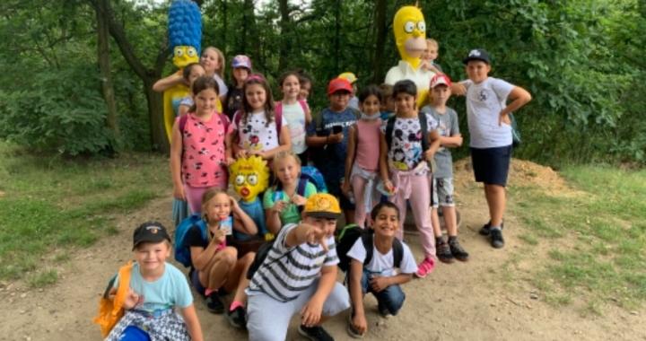 Foto: Žáci ZŠ Lidická si letní vzdělávací kemp užili