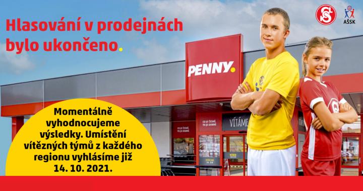 Vyhodnocení soutěže Hýbeme se hezky česky s PENNY Marketem