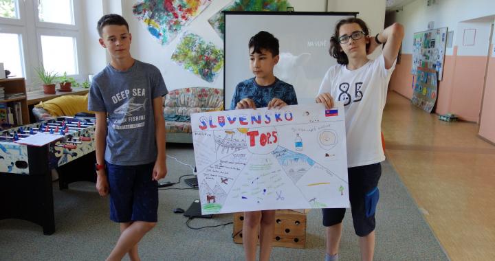 Děti ze ZŠ v Želechovicích nad Dřevnicí si užily vzdělávací Cestu kolem světa